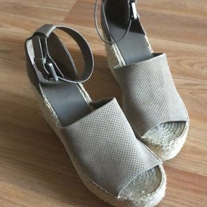 Marc Fisher LTD grey espadrille
